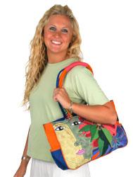 Laurel Burch Blossoming Spirit Medium Bag