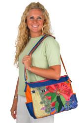 Laurel Burch Blossoming Spirit Medium Tote Bag