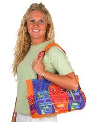Laurel Burch Three Amigos Medium Tote Bag