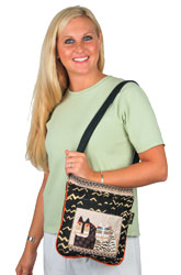 Laurel Burch Wild Cats Crossbody Bag