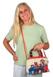 Laurel Burch Eta & Friends Small Tote Bag