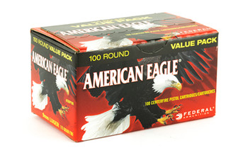 Federal AM Eagle 9MM 115 Grain Weight FMJ 100/500