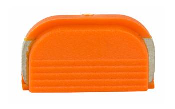 Glock Oem Slide Cvr Plt Half Orange