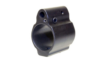 Ergo .750 LOW PRO Adjustable GAS Block - Black