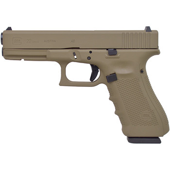 Glock 22 Gen4 40Sw 4.49 15Rd Coyote Brown FS