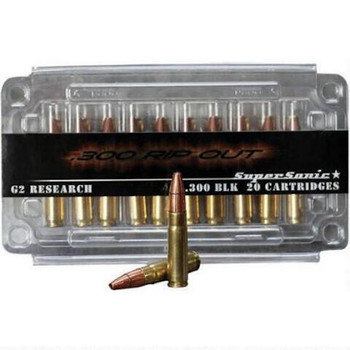 G2R Rip-Out Ammo 300 BLK Supersonic 110Gr R.I.P. B