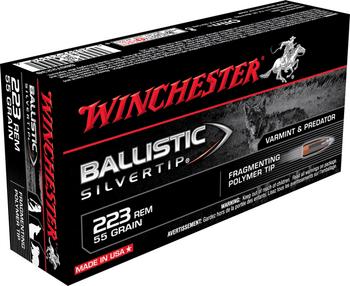 Winchester Ballistic TIP 223Rem 55 Grain Weight 20