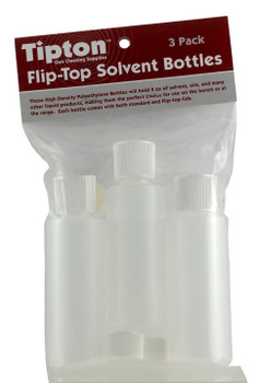 Tipton 197624 Flip TOP Solvent Bottles  4 OZ