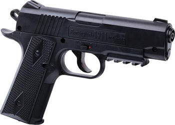 CROSMAN Remington 1911BB CO2 Powered, Semi-Auto BB Air Pistol Black