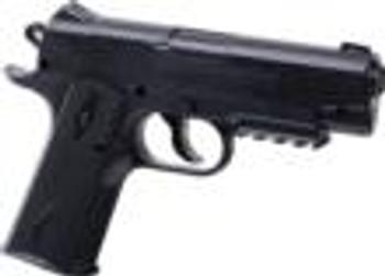 CROSMAN Remington 1911BB CO2 Powered, Semi-Auto BB Air Pistol Black