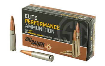 Sig Sauer Ammo 300black 120 Grain Weight Sld Cppr Otm 2
