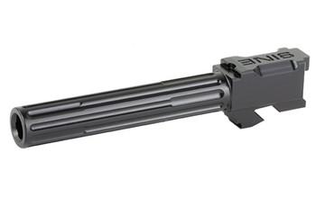 Lantac Barrel FOR G17 Fluted Black 01GBG17NTHBL