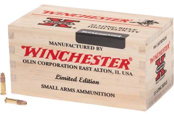 Win Ammo X22LR500WB Super-X 22LR HP 36GR Bulk 500 Wooden Bx/3000rdsCs