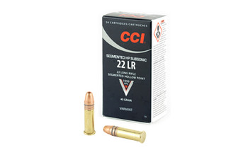 CCI 22Lr Quik Shok 40 Grain Weight Subsonic 50/
