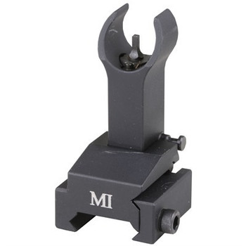 "Midwest 2""  Flip-Up Gas Block Front Sight Aluminum Black"