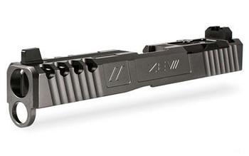 ZEV Spartan Slide W/ RMR Abs. Co-Wit  Titanium Gray FOR Glock17 G3