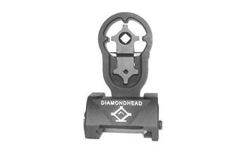DIAMONDHEAD USA, INC. DMDHD HOLE SHOT REAR FXD SIGHT BLK