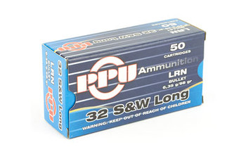 Prvi Partizan 32 S&w Long Lrn 98 Grain Weight 50/500