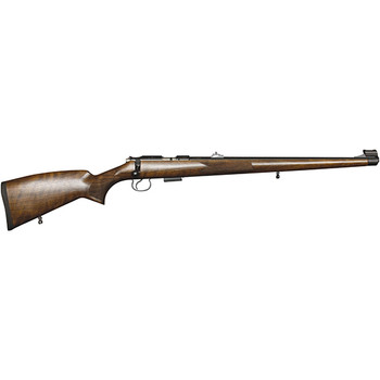 CZ 455 FS 17Hmr Walnut/Bl 5RD 02107