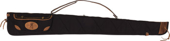 "Browning Lona Canvas GUN Case 52"" Black/Brown Trim"