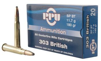 PPU 303 British SP 180Gr 20/200 PP303S2
