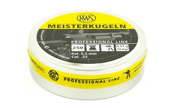RWS Plts .22 Meisterkugeln 250/Tin 2404458