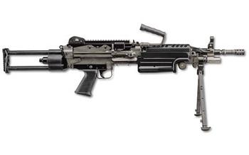 """FN Herstal M249s 5.56Nato 16.1"""" Belt Black Para"""
