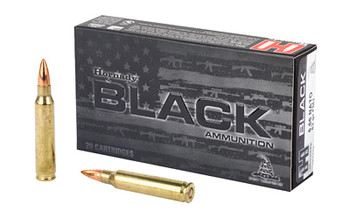 Hornady Black 556Nato 62 Grain Weight FMJ 20/200