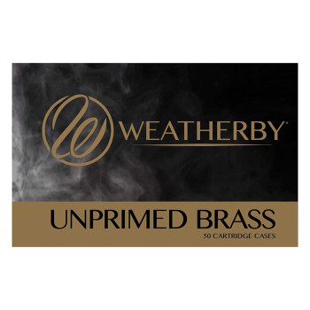 6.5-300 WBY MAG Unprimed Brass - 50 Count