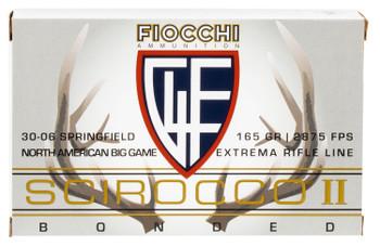 Fiocchi .30-06 165Gr. Scirocco 20-Pack 3006SCA