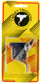 Timney Triggers 517-16 Featherweight Deluxe Remington 700 RH Straight Trigger with Safety Steel w/Aluminum Housing Nickel