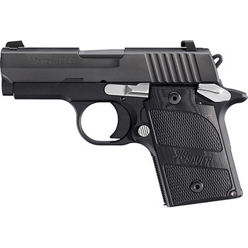 "SIG Sauer P938 Nightmare 9MM 6RD 3"" Black"
