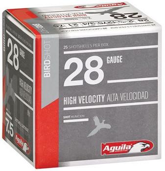 Aguila 28Ga 1275Fps 2.75 3/4Oz #8 25/10 1CHB2878