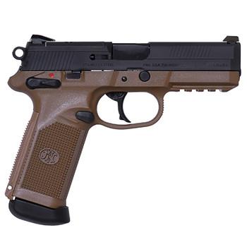 """FN Herstal Fnx-45 4.5"""" Fde/Black 3 Magazine MS 15R"""