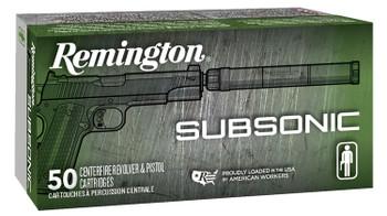REM Subsonic 9MM 147Gr 50/500 28435