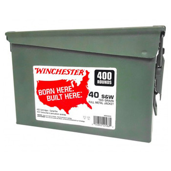 Winchester Ammo 40Sw 165Gr FMJ 400Rd CAN WW40C