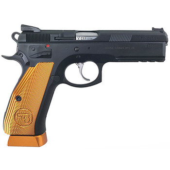 CZUSA 75 TACTICAL SPORT 9MM ORANGE CZ CUSTOM SHOP