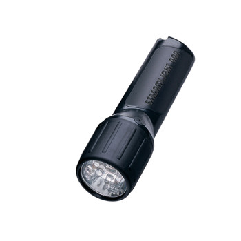 STREAMLIGHT 4AA LED, White LEDs w/o alkaline batt.Blk