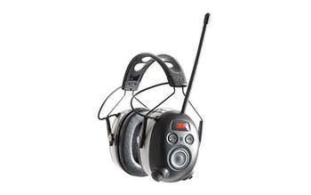 Peltor Worktunes Bluetooth Earmuffs Black