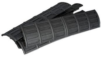 Tapco Rail Panels Black 5PK - Tinmnt90301blk