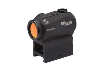 SIG Sauer Romeo5 X Compact RED DOT Sight - 1X20mm 2 MOA RED DOT Reticle 0.5 MOA Adj. AAA Black