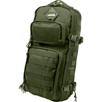 BARSKA OPTICS GX-300 Tactical Sling Backpack, Green