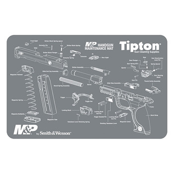 "TIPTON M&P Maintenance Mat- 11""x17"""