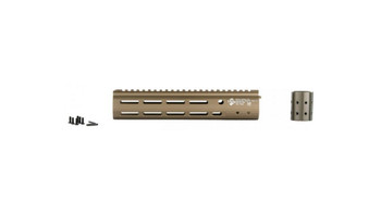 ALG Defense AR Handguard EMR Ergonomic Modular Rail - Desert Dirt Color