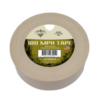 TAC SHIELD 100 MPH Tape 10 Yards Tan