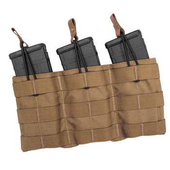 TAC SHIELD Triple Speed Load#153; Rifle Pouch MultiCam