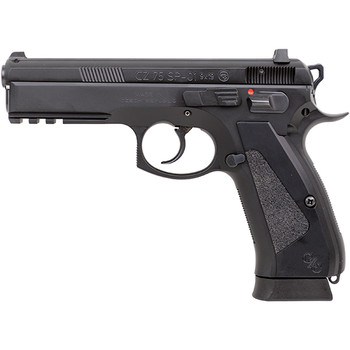 CZ USA Custom 75 Sp-01 9MM 4.7 NS Alum Grip 2 18Rd