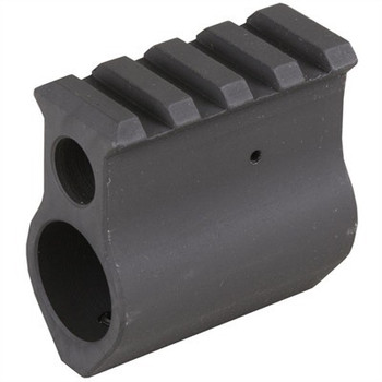 Midwest AR-15 Gas Block Picatinny .750 Steel Black