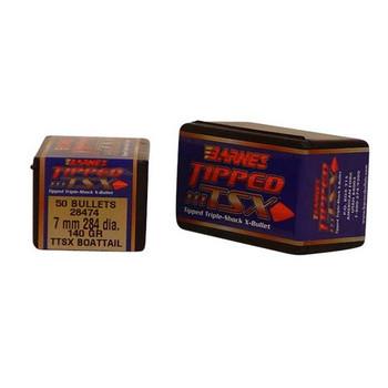 Barnes Bullet 7mmcal .284 140gr. Tipped TSXBT