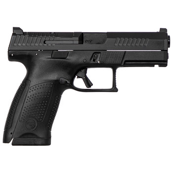 """CZ P-10C 9MM 4"""" BLK OR NS 15Rd 95130"""